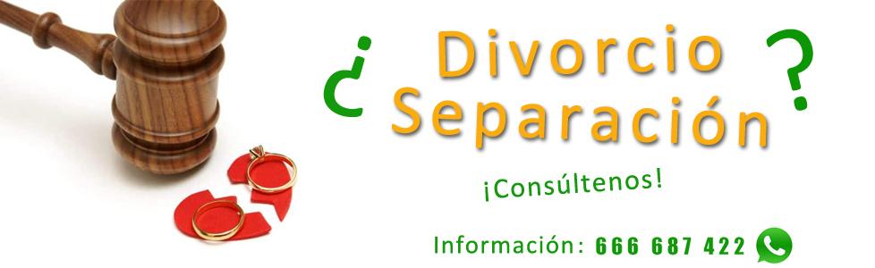 Divorcio separación